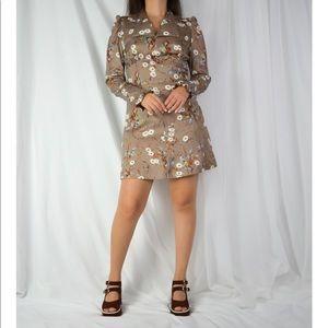 VINTAGE/ 70s mini dress